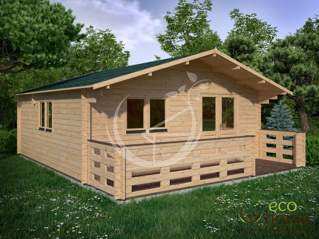 one bedroom studio linus 6x6m wc eco home