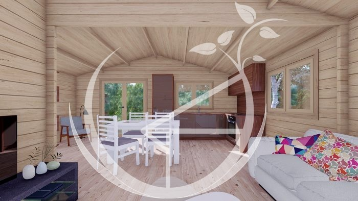 1545mm On3 Bed Studio Linus 6x6+wc