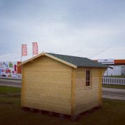 Ecohome log cabins Imperial 3x3m 1