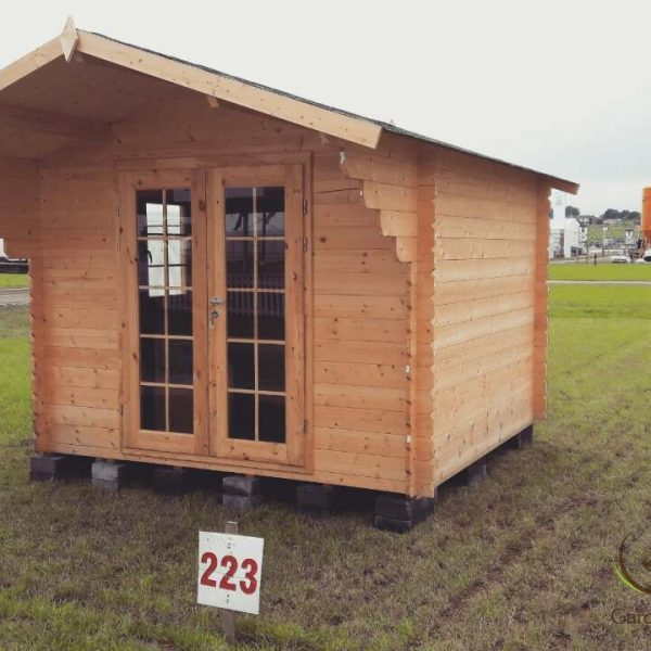 Ecohome log cabins Imperial 3x3m 3