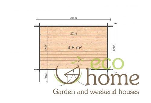 Edith 3x2 Floor Plan