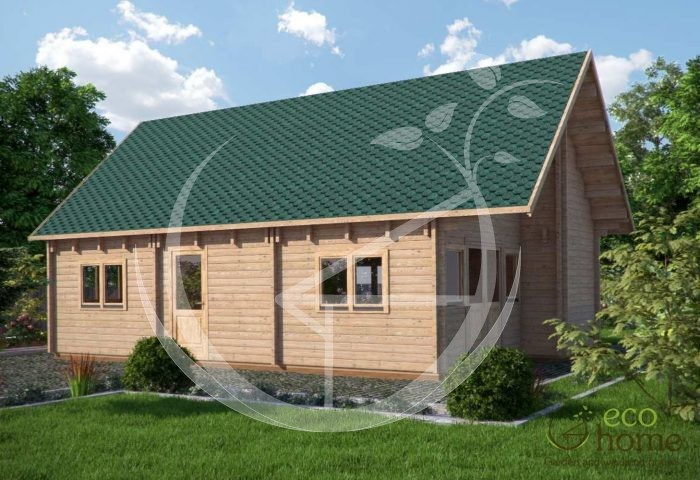 Four Bed Log Cabin Two Storey Log Cabin Felix
