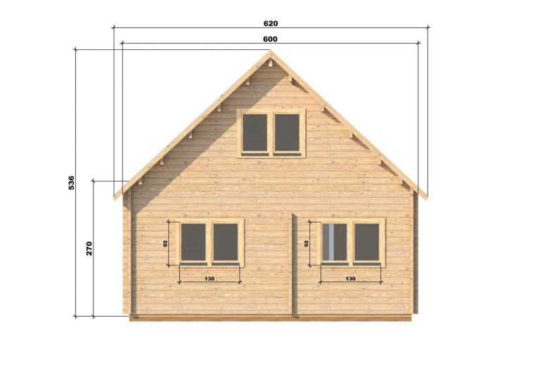 Four Bed Two Storey Log Cabin Log House For Sale In Ireland Felix Back