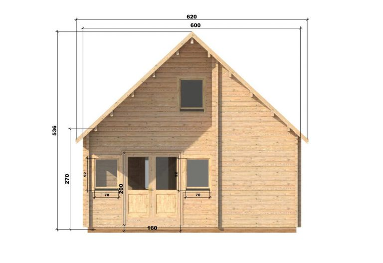 Four Bed Two Storey Log Cabin Log House For Sale In Ireland Felix Front