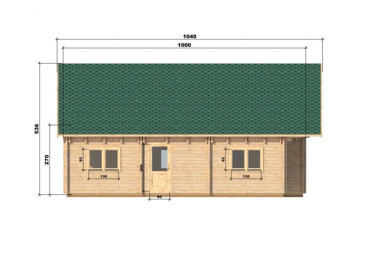 Four Bed Two Storey Log Cabin Log House For Sale In Ireland Felix Left