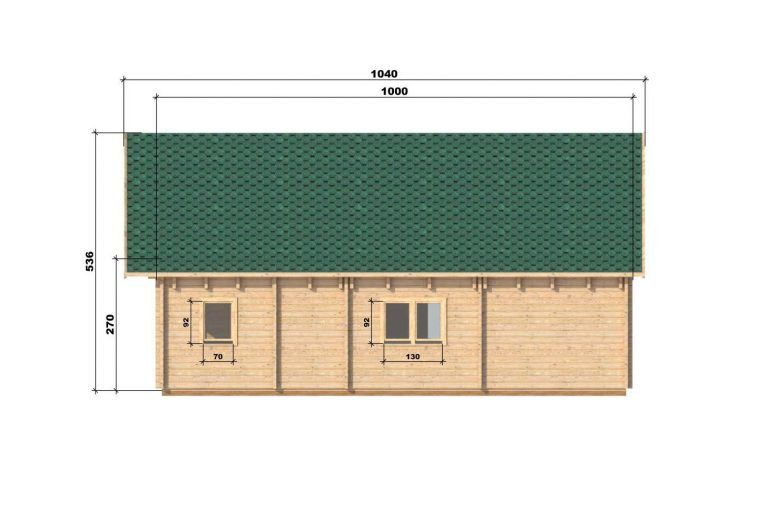 Four Bed Two Storey Log Cabin Log House For Sale In Ireland Felix Right