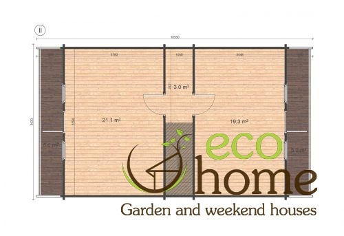 Four Bed Two Storey Log Cabin Log House For Sale In Ireland Verona Floor Plan 2