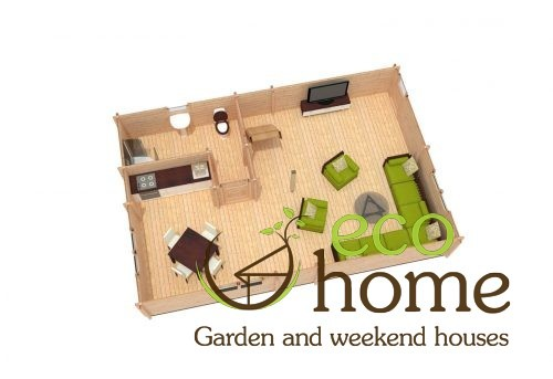 Four Bed Two Storey Log Cabin Log House For Sale In Ireland Verona 2