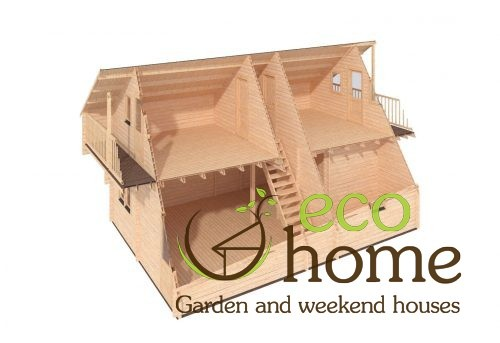 Four Bed Two Storey Log Cabin Log House For Sale In Ireland Verona 3