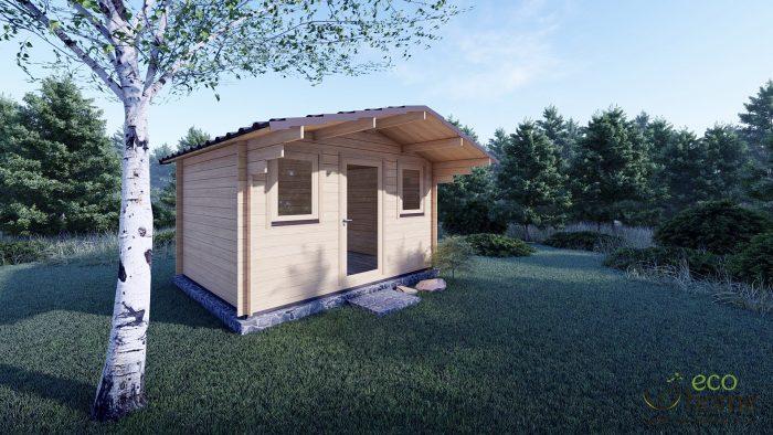 Garden Log Cabin Genova 3.8m X 3m