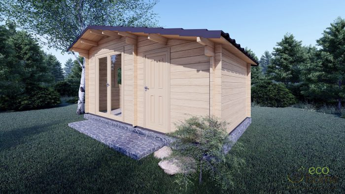 Garden Log Cabin Deco 5m X 3m 1