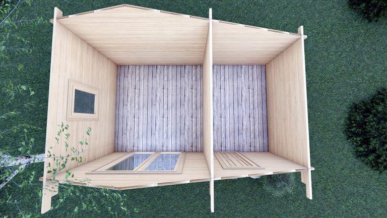 Garden Log Cabin Deco 5m X 3m 2