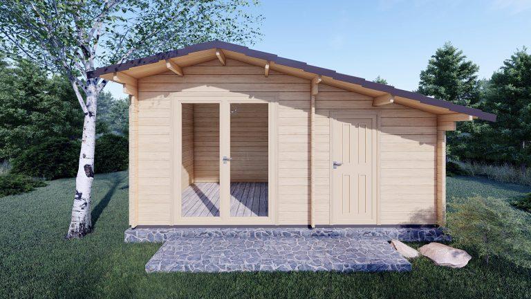 Garden Log Cabin Deco 5m X 3m 3