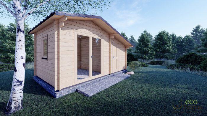Garden Log Cabin Deco 5m X 3m Ecohome