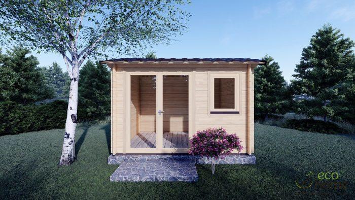 Garden Log Cabin Erna 3.4m X 2.5m 3