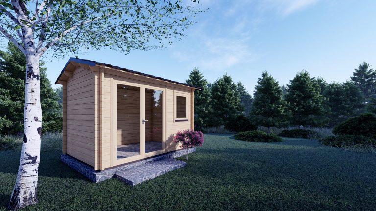 Garden Log Cabin Erna 3.4m X 2.5m