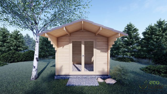 Garden Log Cabin Imperial 3m X 3m Log Cabins Ireland