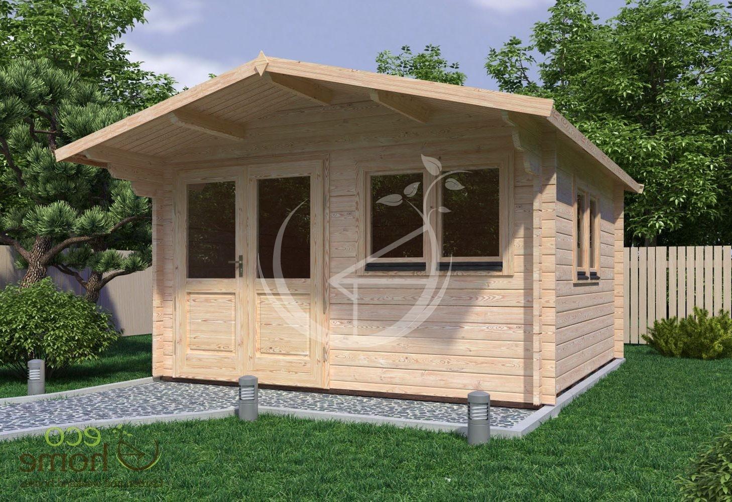 Garden Log Cabin Linus 4m X 4m Log Cabins Ireland