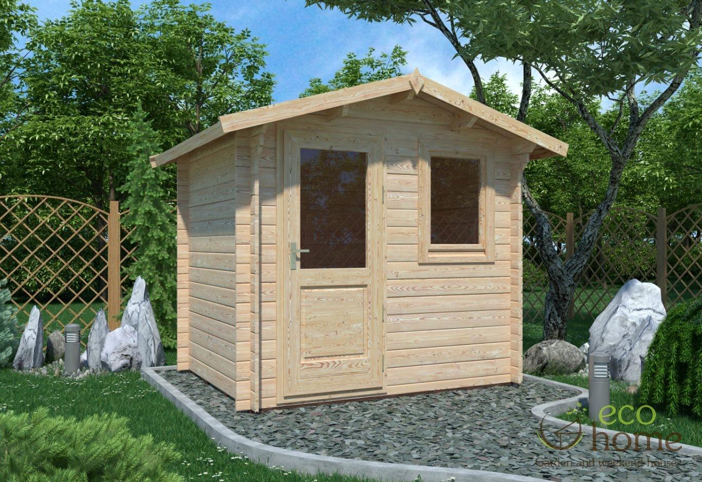 Garden Log Cabin Mantova 2 5x2m Log Cabin Ireland