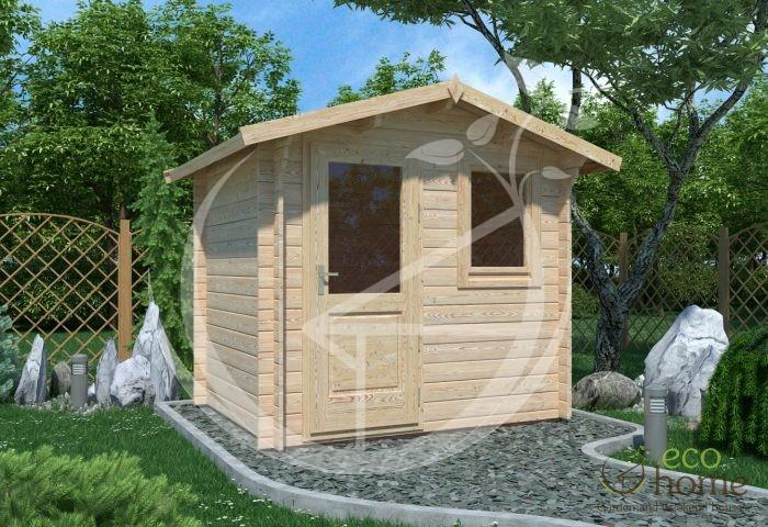 Garden Log Cabin Shed Ecohome Log Cabins Tullamore Mantova 2,5x2