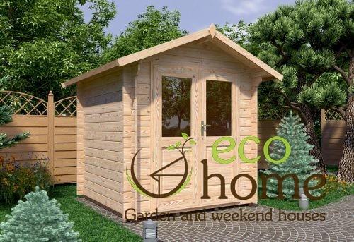Garden Log Cabins Ireland Bedford 2,2x2,2