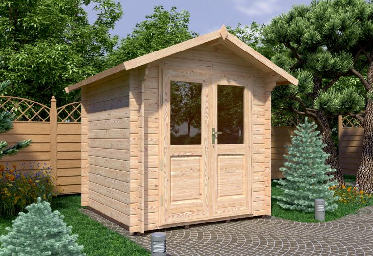 Garden Log Cabins Ireland Bedford 2,2x2,2