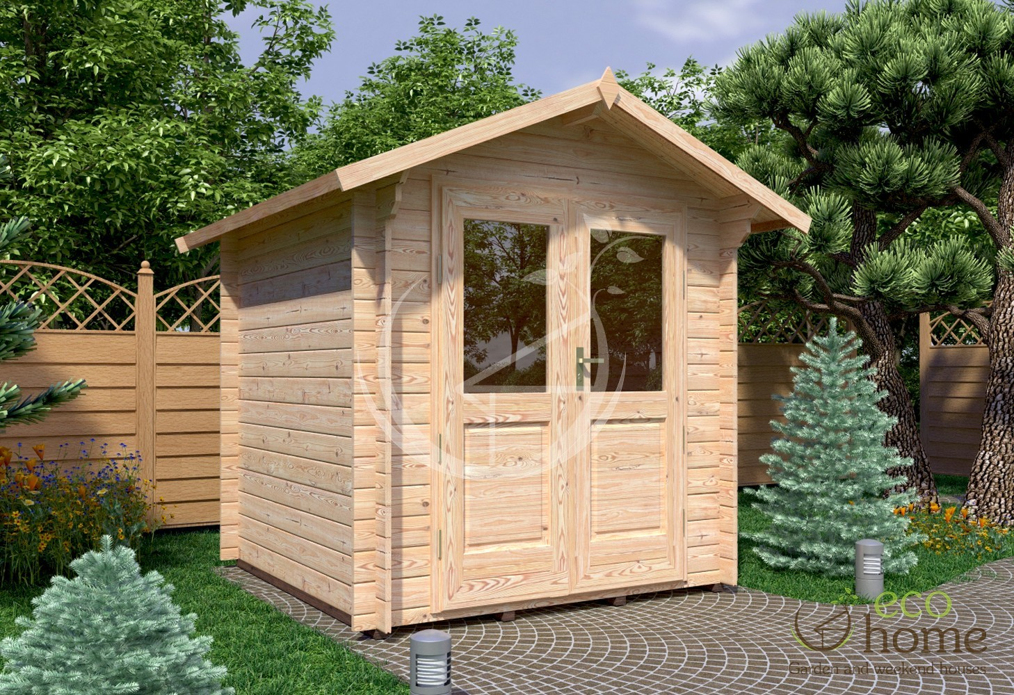 garden log cabin bedford 2 2 215 2 2m log cabins ireland