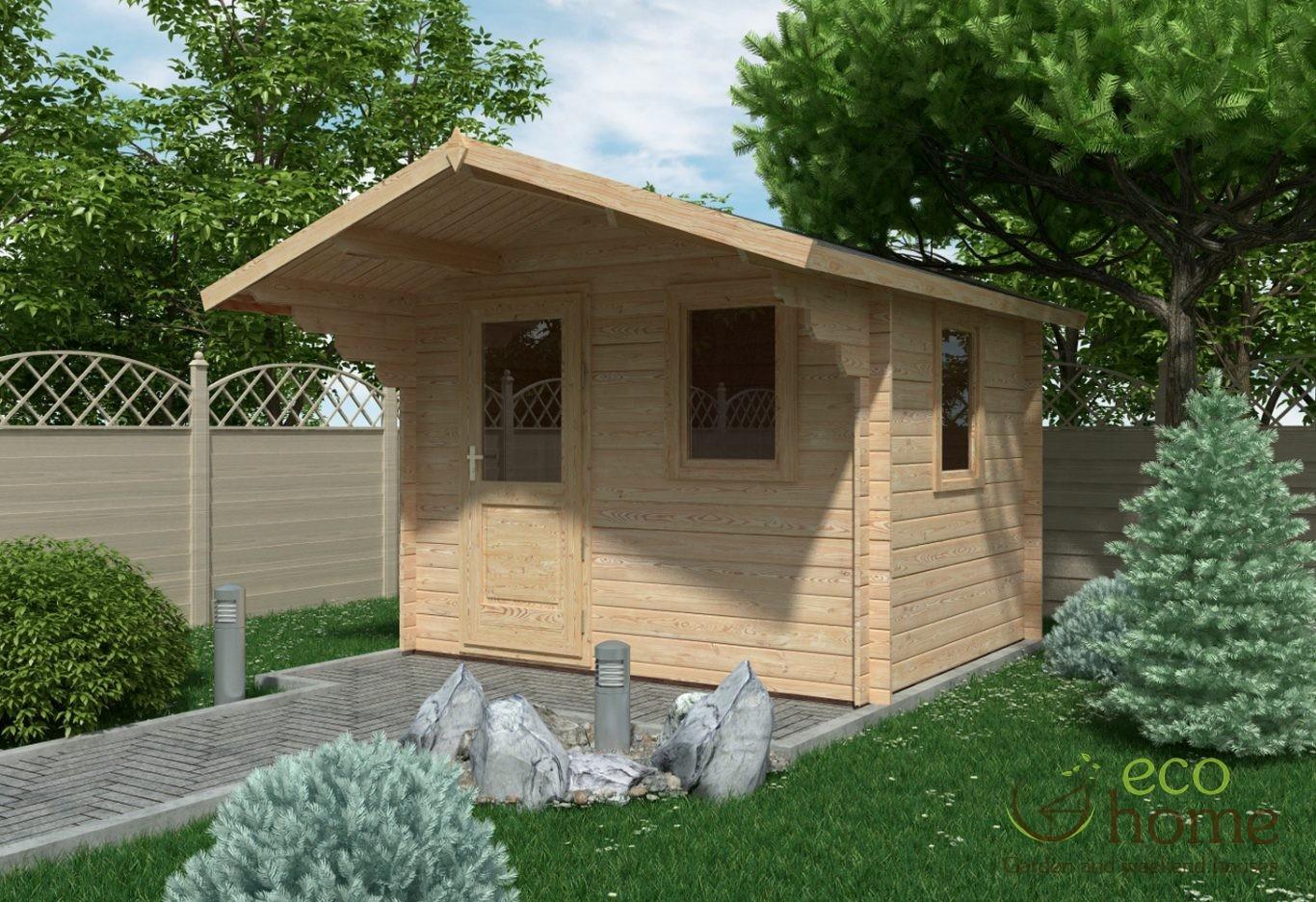 Garden Log Cabin Modena 3m X 2 5m Log Cabins Ireland
