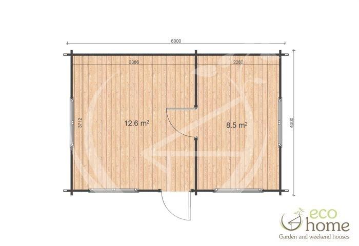 Murray 4x6 Floor Plan
