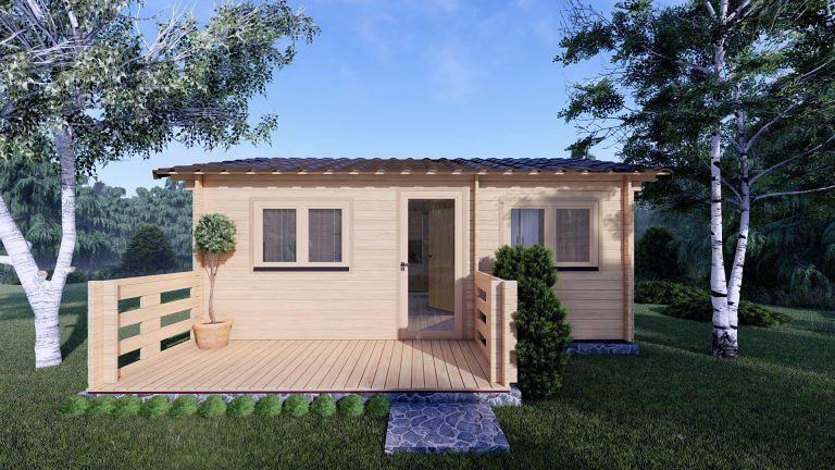 One Bed Log Cabin Hacan A 2