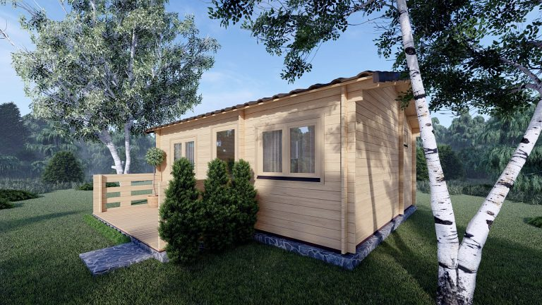 One Bed Log Cabin Hacan A 3