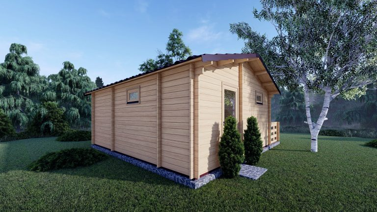 One Bed Log Cabin Hacan A 5