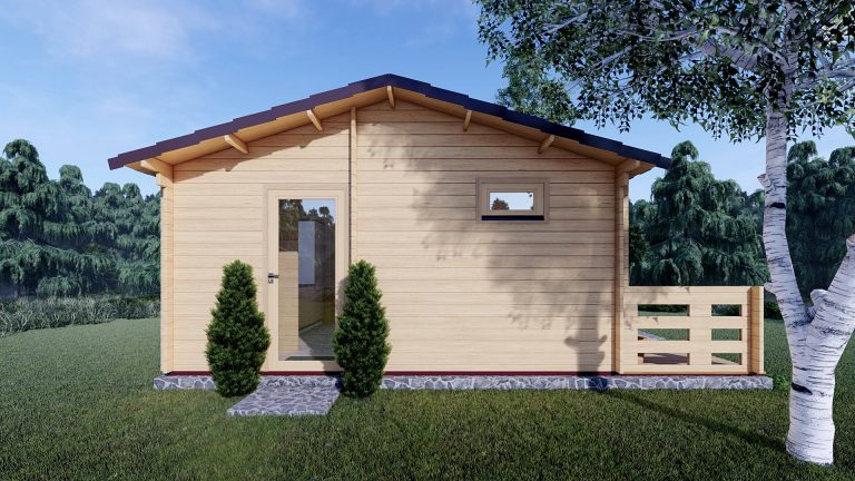 One Bed Log Cabin Hacan A 6