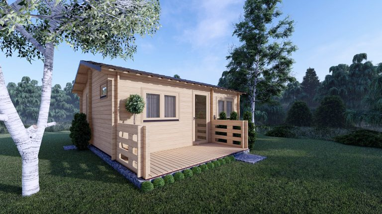 One Bed Log Cabin Hacan A
