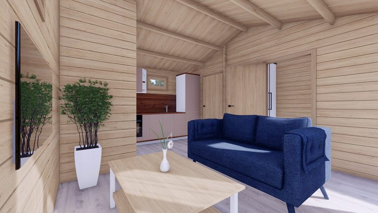 One Bed Log Cabin Hacan A9