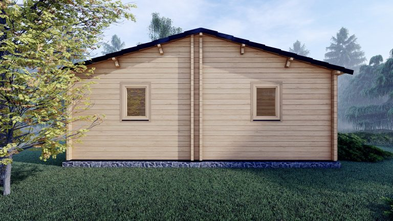 Three Bed Log Cabin In Ireland For Sale Scarlet 10.2m X 7m 3