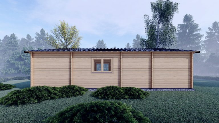 Three Bed Log Cabin In Ireland For Sale Scarlet 10.2m X 7m Planning Permission