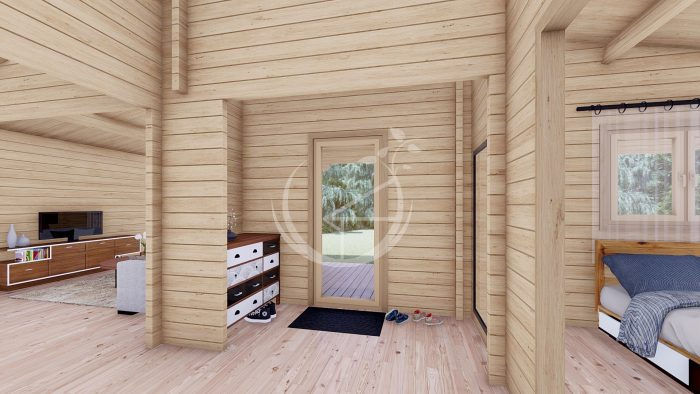Two Bed Log Cabin Jennifer For Sale Ireland 10