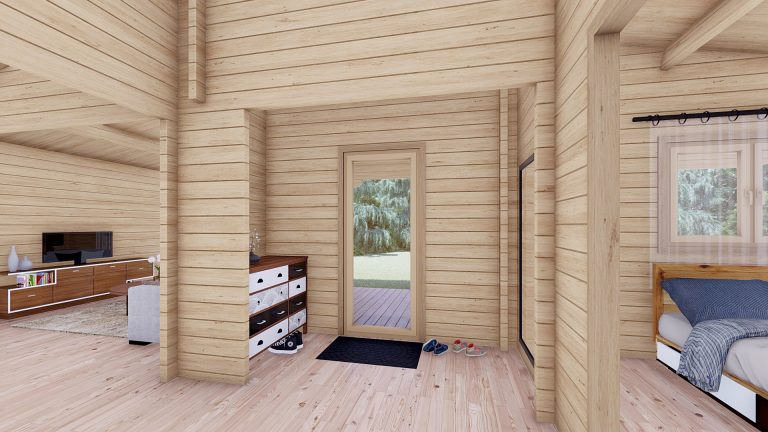 Two Bed Log Cabin Jennifer For Sale Ireland 10
