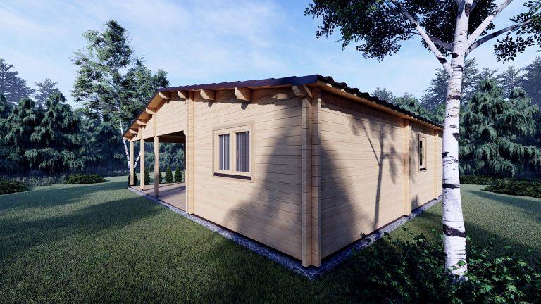 Two Bed Log Cabin Jennifer For Sale Ireland 2