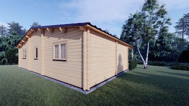 Two Bed Log Cabin Jennifer For Sale Ireland 5