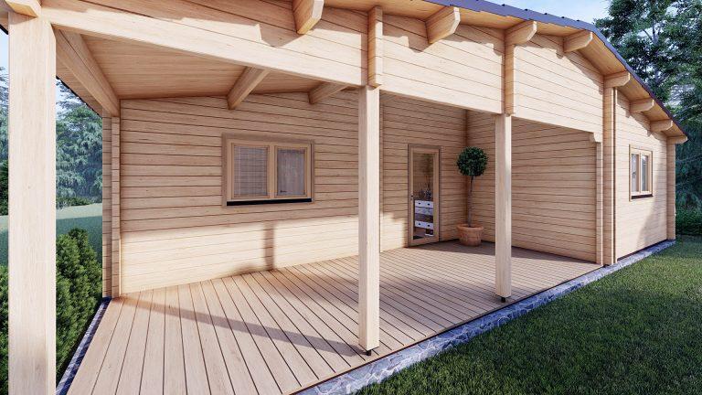Two Bed Log Cabin Jennifer For Sale Ireland 6