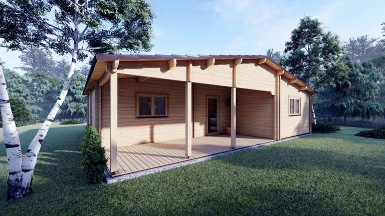 Two Bed Log Cabin Jennifer For Sale Ireland
