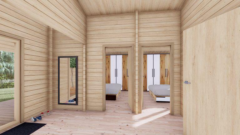 Two Bed Log Cabin Jennifer For Sale Ireland 9