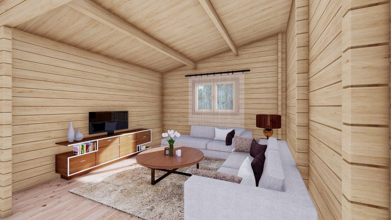 Two Bed Log Cabin Jennifer For Sale Ireland Loghouse Cabins