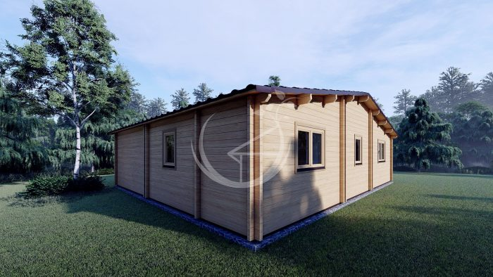 Two Bed Log Cabin Jennifer For Sale Ireland3