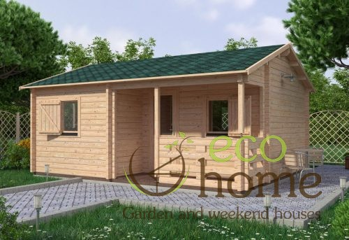 One Bed Log Cabin Veronica 5x6