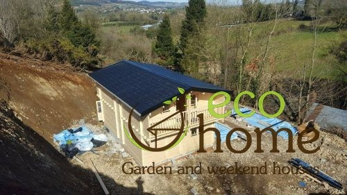 Two Bed Two Storey Log Cabin Log House For Sale In Ireland