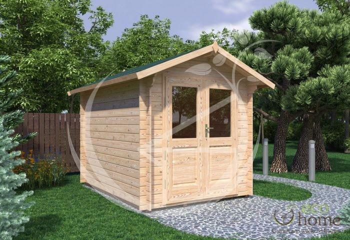 Garden Log Cabin Bedford 2,2x3