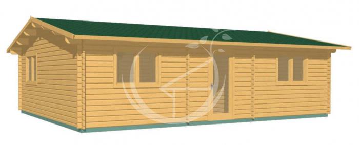 Two bedroom log cabin Ireland